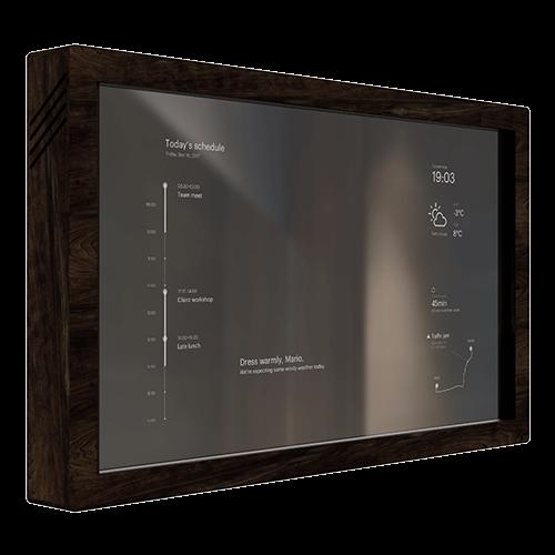 Mirr Front Left Touchscreen Smart Mirror Mirr