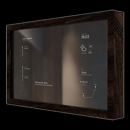 Mirr Front Right Touchscreen Smart Mirror Mirr