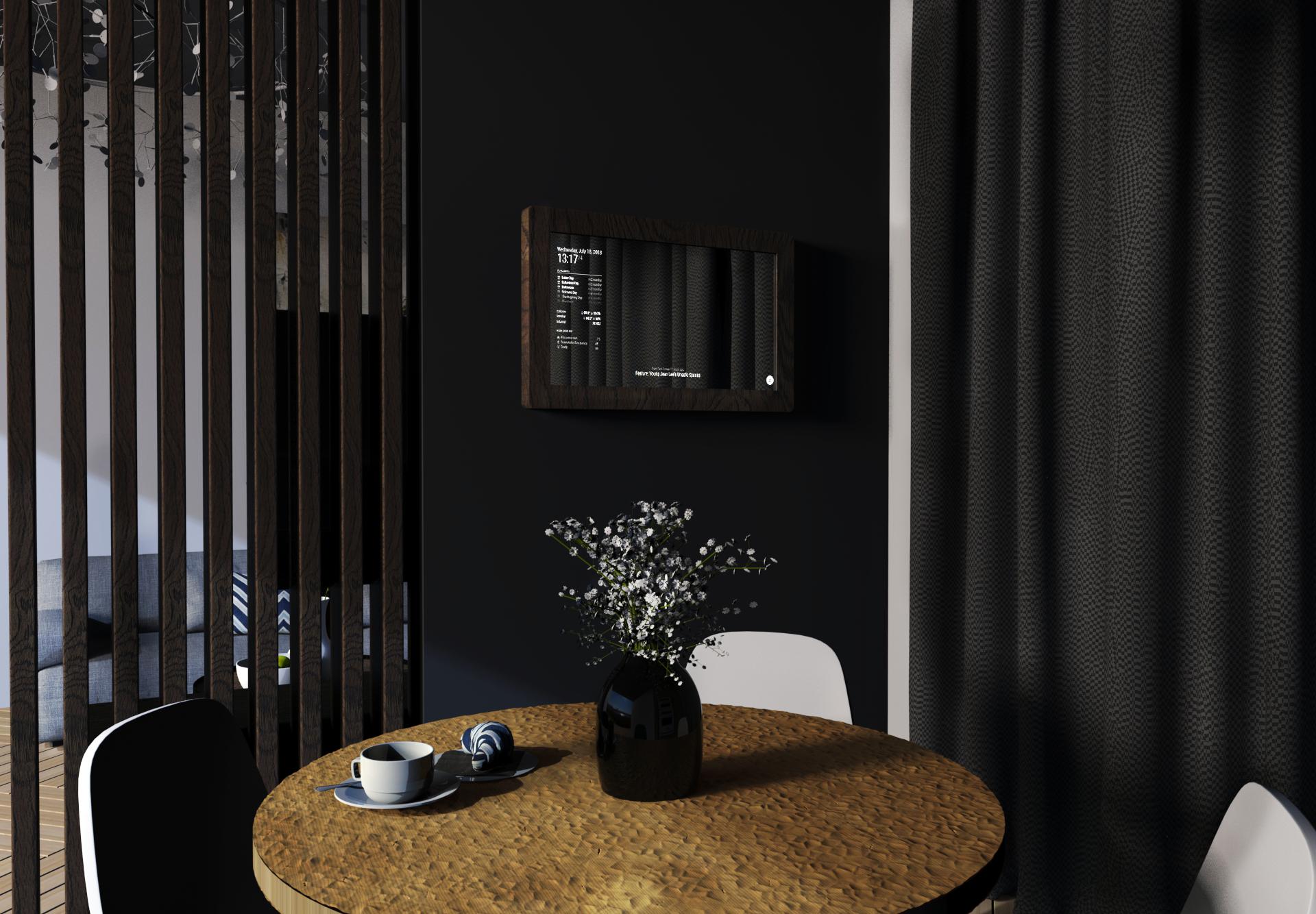 Touchscreen Smart Mirror, Mirr, Living Room Mirror